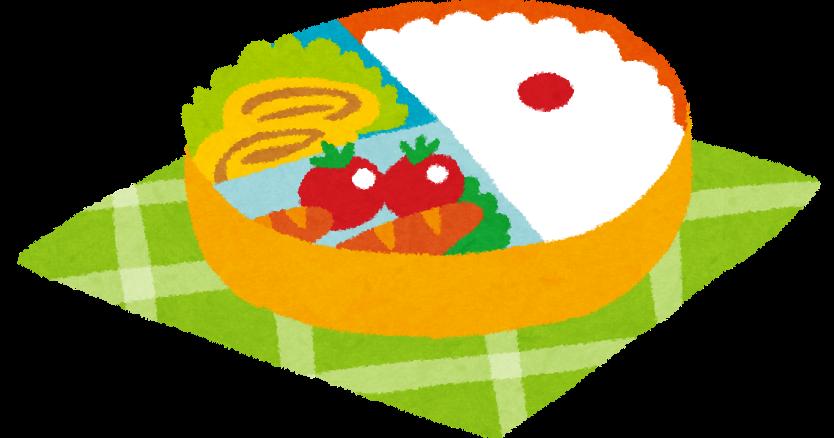お弁当のイラスト「かわいいお弁当箱」 | かわいいフリー素材集 いらすとや