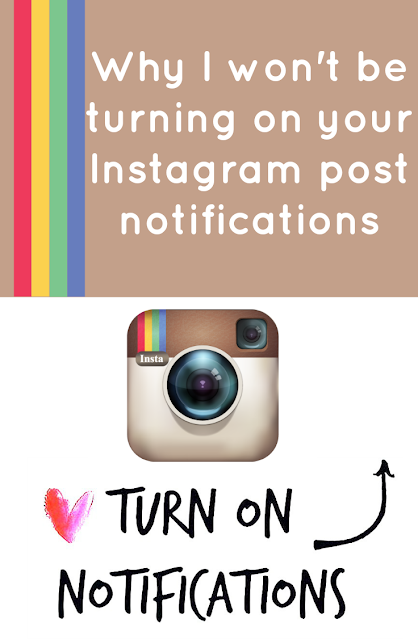 Instagram Algorithm Change | Turn on Notifications