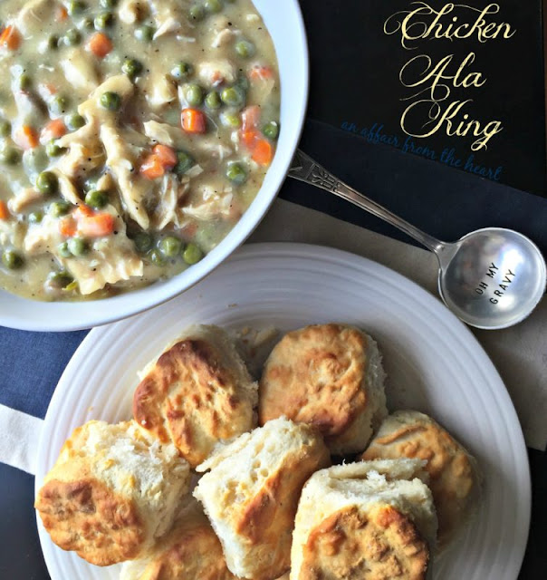Featured Recipe // Chicken a la King from An Affair From the Heart