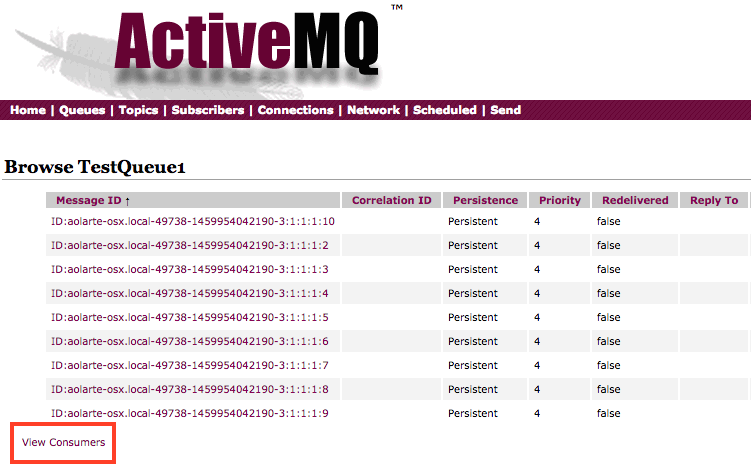 ActiveMQ, prefetch limits, the Dispatch Queue and