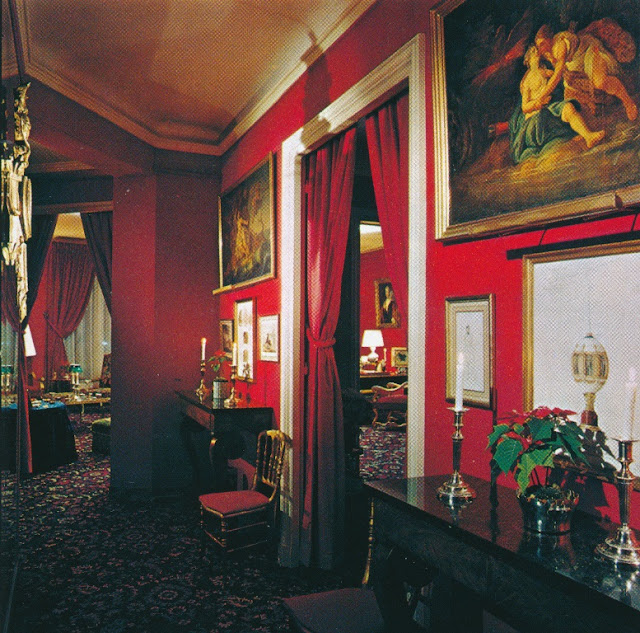 Chez Princesse Ghislaine de Polignac