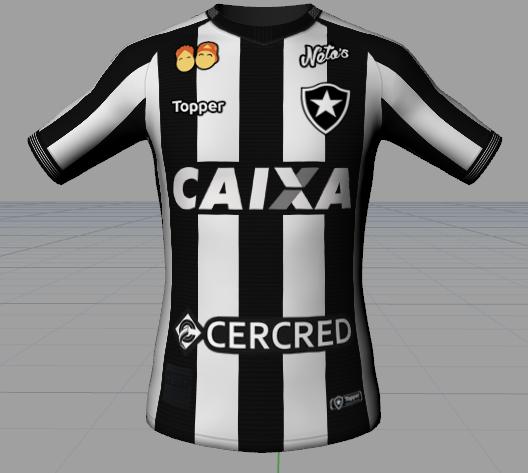 0163ad3eb4ff2 Botafogo Topper 2018-19 - UPDATE - Mundo Fifa Kits