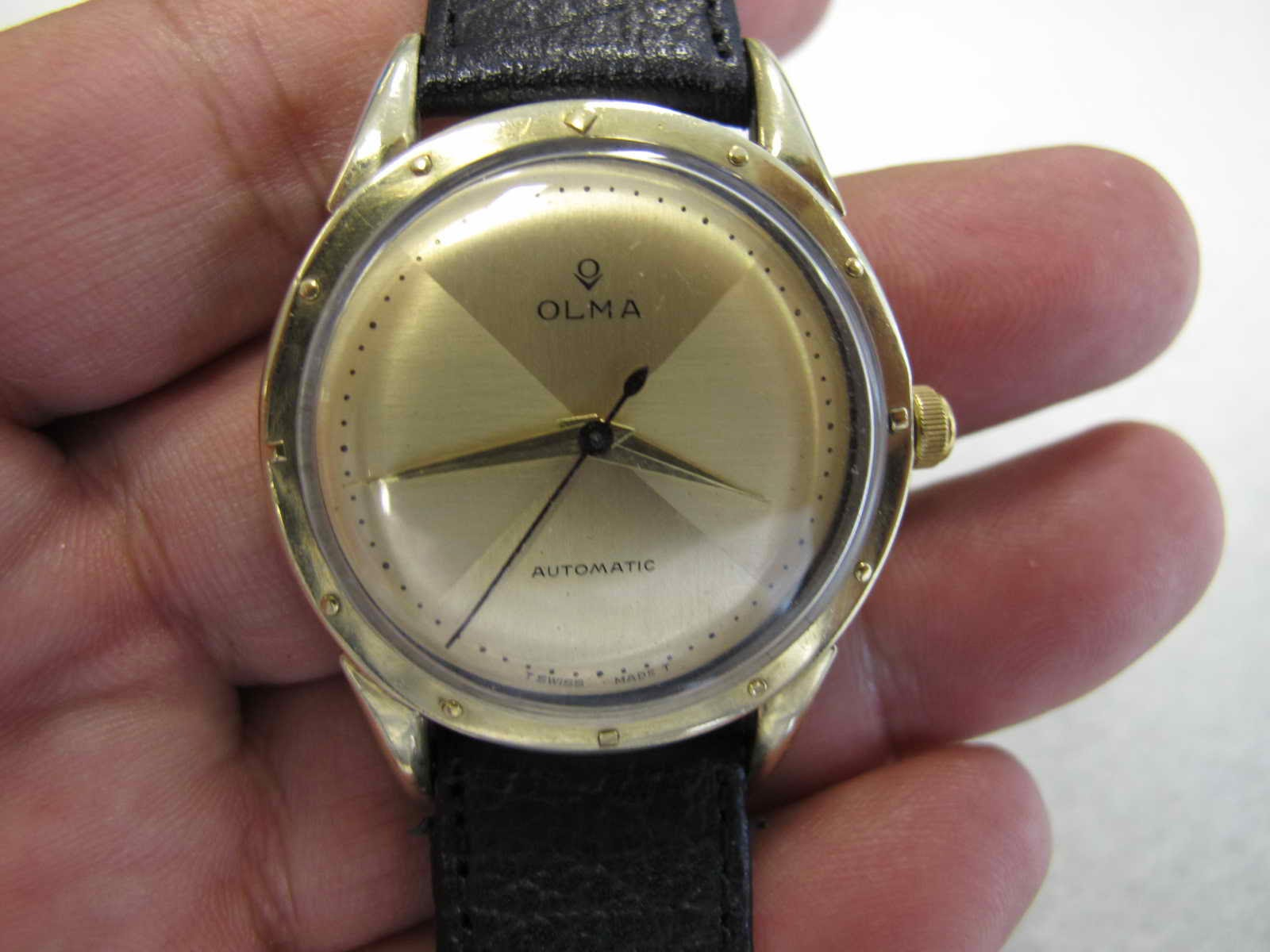 OLMA GOLD TOP AUTOMATIC SOLD Jam tangan