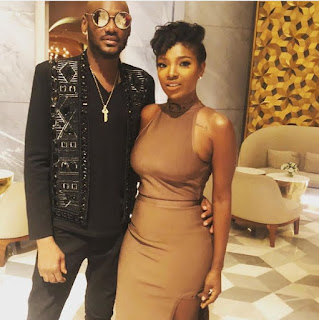 'I Am Tripping Afresh': 2Face Smitten By His Wife's Beauty