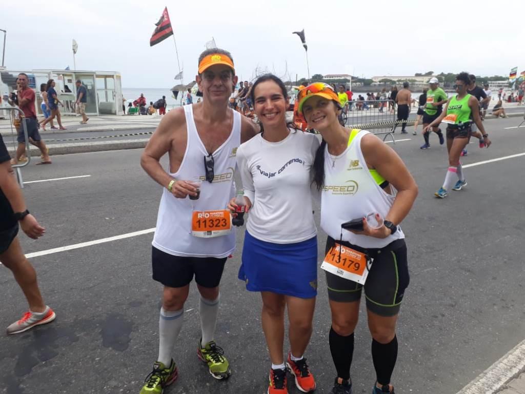 Maratona do Rio Apoio aos Corredores
