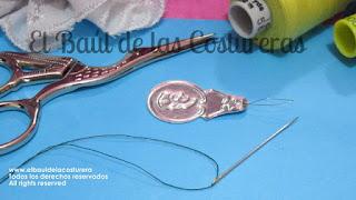 como se usa el enhebrador estuche agujas Needles Susan Sewing