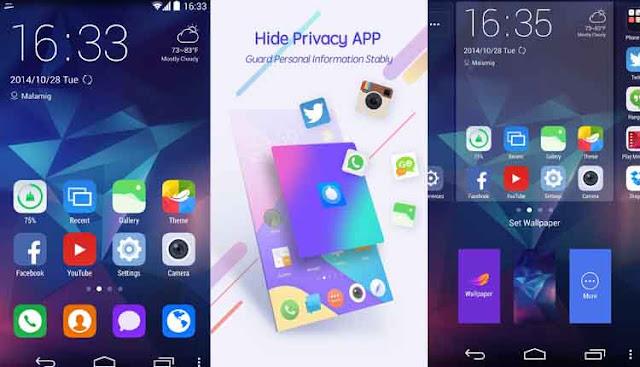 Zero Launcher 5 Aplikasi Launcher Android Terbaik