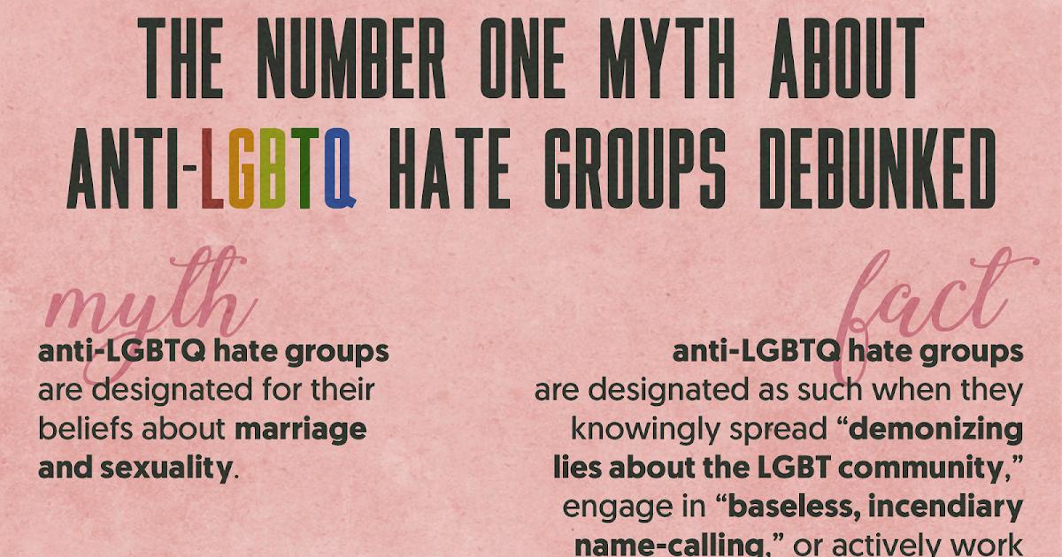 Anti gay hate group