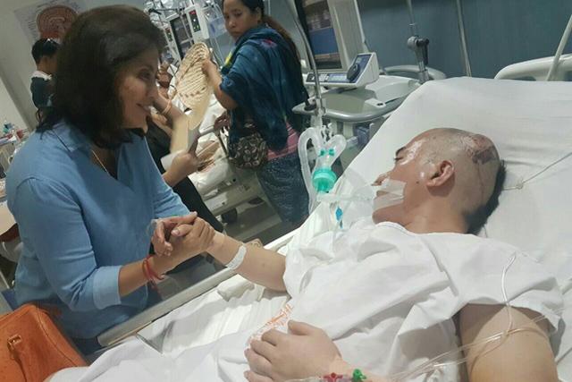 Vice President Leni Robredo visits victim Davao blast
