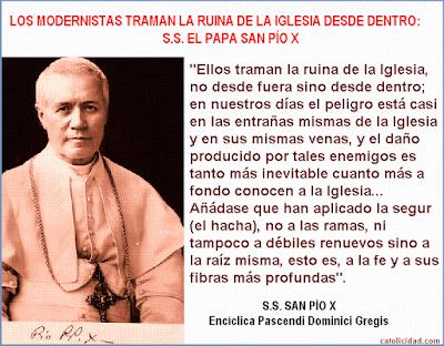 Resultado de imagen de Encíclica Pascendi
