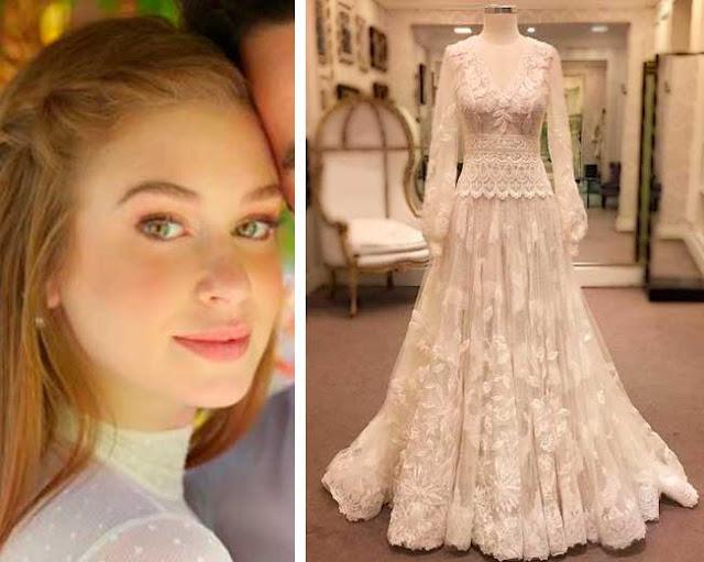 Marina Ruy vestido de noiva Sandro Barros