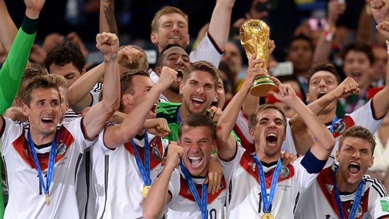 Jerman saat menjadi juara Piala Dunia 2014 di Brazil