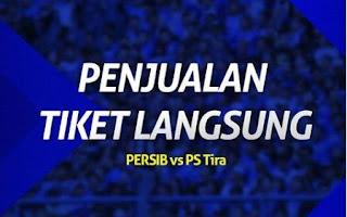 Tiket Persib vs PS Tira Dijual Langsung di Graha Persib Senin