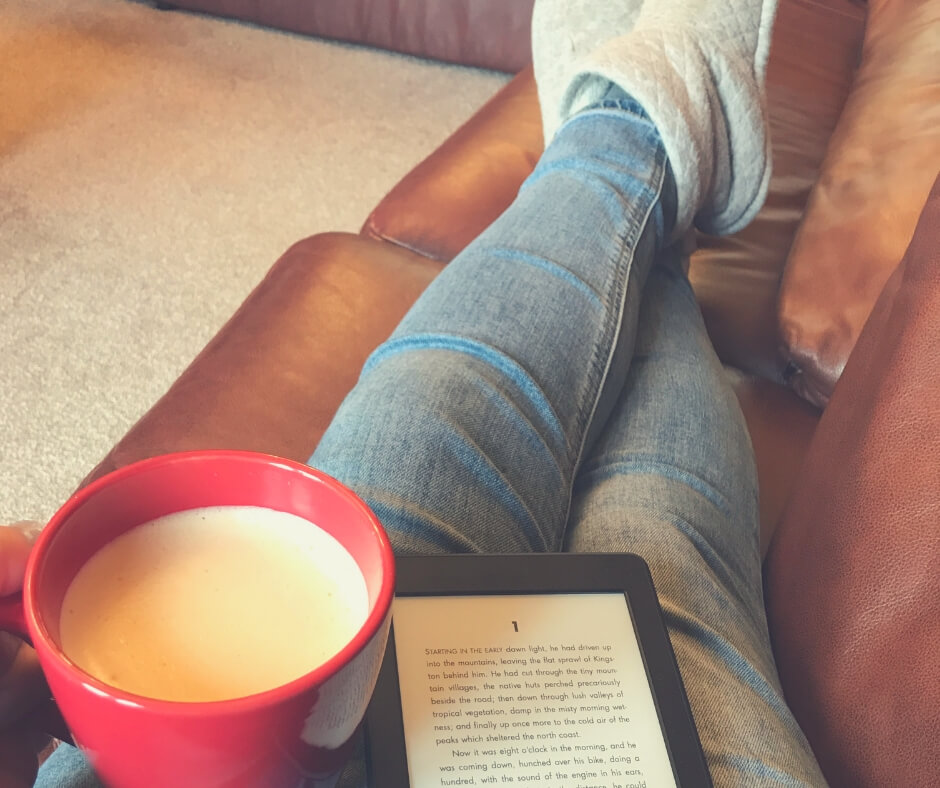 Why It's Okay To Be A Stay-at-home Mum When You're Not A Natural Homemaker | Sit on the sofa, enjoy a coffee, and read a book. Enjoy being home.