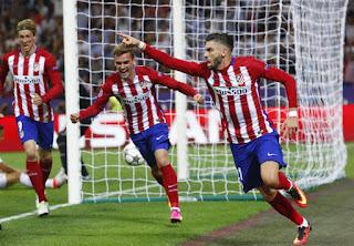 Carrasco goal Champions Final 2016