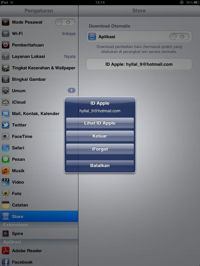 Cara Ganti Apple Id di iPhone dan iPad ~ MizanTech