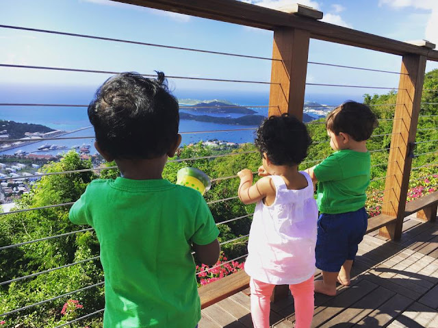 traveling to st thomas with toddlers