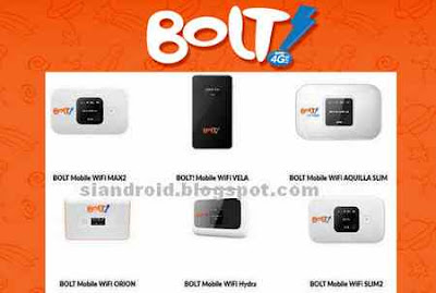 Daftar Harga MiFi BOLT 4G Prabayar dan Pascabayar Terbaru