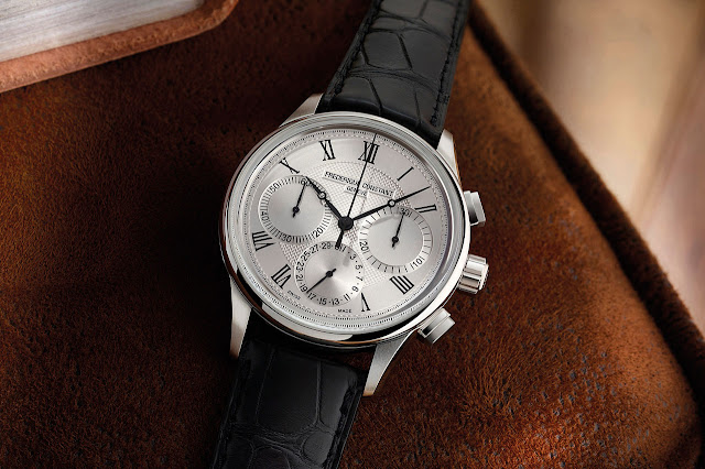 Frédérique Constant Flyback Chronograph Manufacture Mechanical Automatic Watch