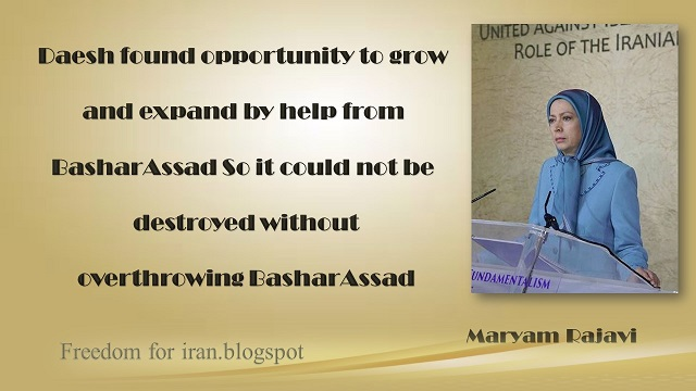 Iran-Maryam Rajavi's remarhs:United Against Fundamentalism, Role of Iranian Resistance08 December 2015