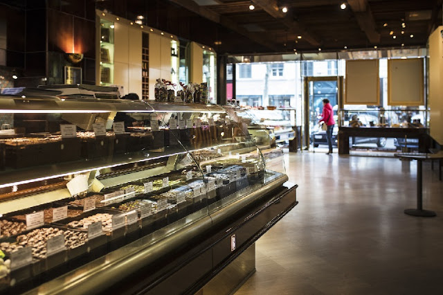 Comprar chocolate no Bernachon em Lyon