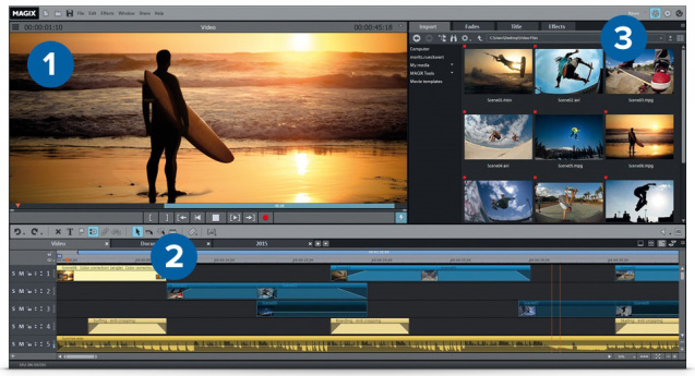 MAGIX Movie Edit Pro 2016 Crack+Serial+Keygen Full Free ...