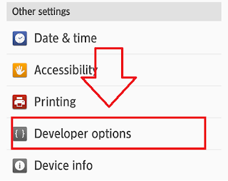 Cara mengaktifkan Mode Debugging di android