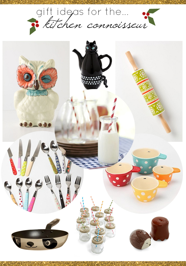 Gift Ideas For The... Kitchen Connoisseur!