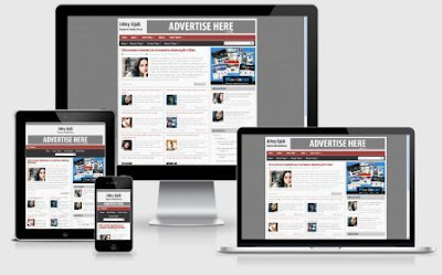 Johny Ajaib Responsive Blogger Templates