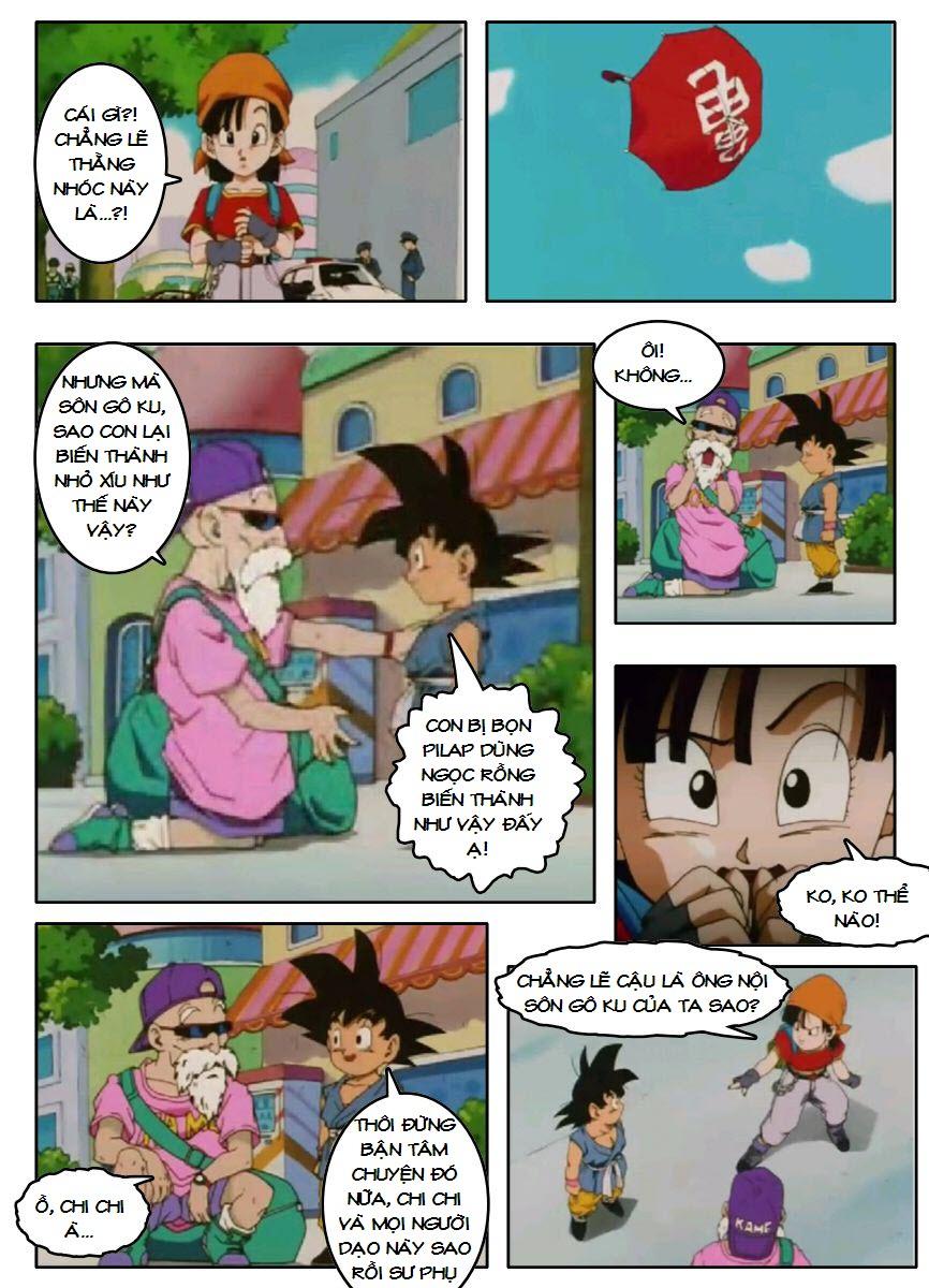 Dragon Ball GT chap 3 - Trang 17