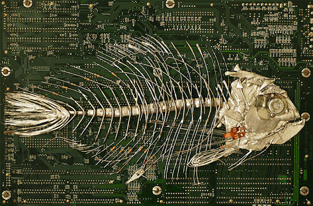 Amazing Circuit Board Artwork by Peter McFarlane