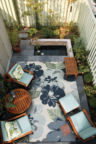 California Livin Home: Outdoor Area Rugs - Al Fresco Decor