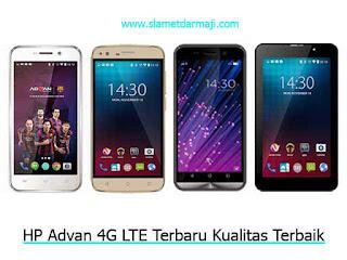 HP Advan 4G LTE Terbaru Kualitas Terbaik
