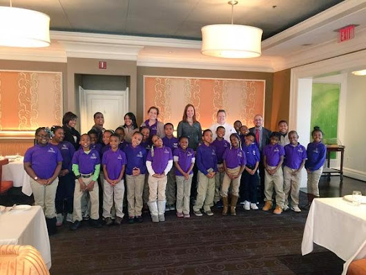 Chef Cindy Wolf Hosts Tour of Charleston for City Springs Students