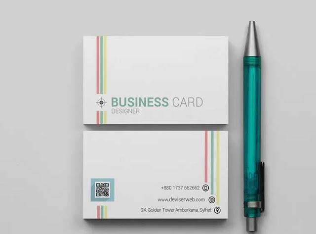 plantilla tarjeta  PSD para editar gratis