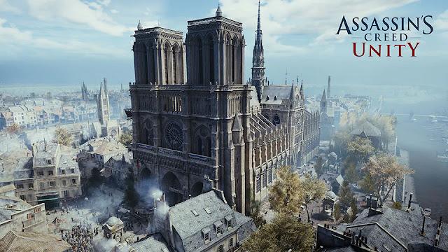Com bela representação em game, jogo será usado pra recontrução real da famosa Catedral