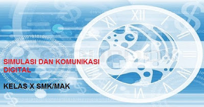 Soal dan Jawaban UAS/PAS Semester 1 Simulasi & Komunikasi Digital Kelas X SMK K13