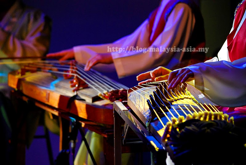 Chinese traditional instruments in Sarawak