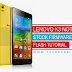 How To Flash Stock Rom in Lenovo K3 Note K50a40