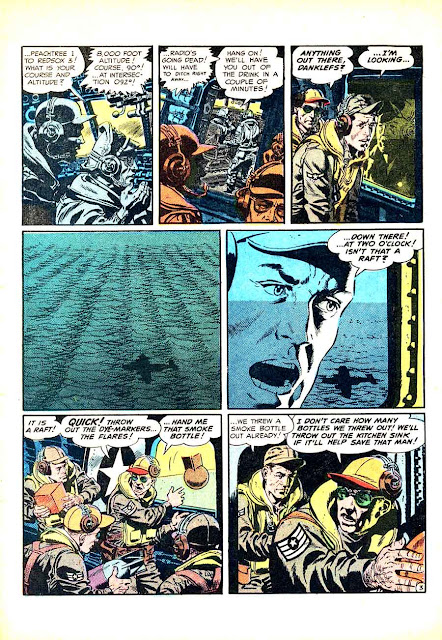Frontline Combat v1 #14 ec golden age comic book page art by Wally Wood