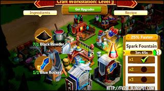 FV2CE, blue firework, farm machine, black powder