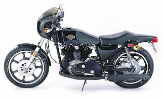 xlcr 1000 1977 side left