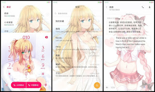 kumpulan tema xiaomi anime keren