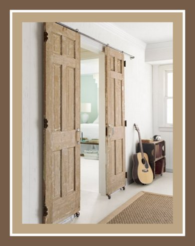 Budget Diy Sliding Barn Doors Content In A Cottage