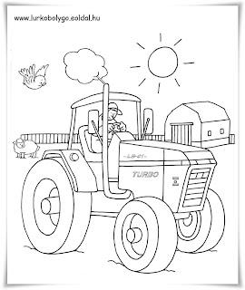 ausmalbilder zum ausdrucken: ausmalbilder traktor
