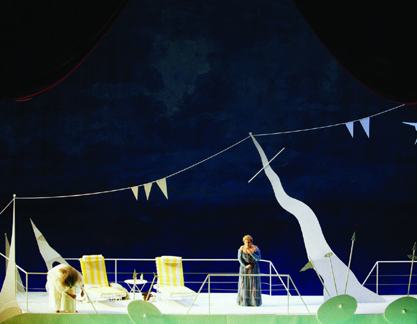Tristan and Isolde, Act 1, Picture from the production's first year in 1998.