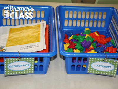 Kindergarten Math Centers: Tips for Organization