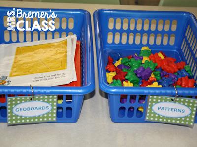 Kindergarten Math Centers: Tips for Organization