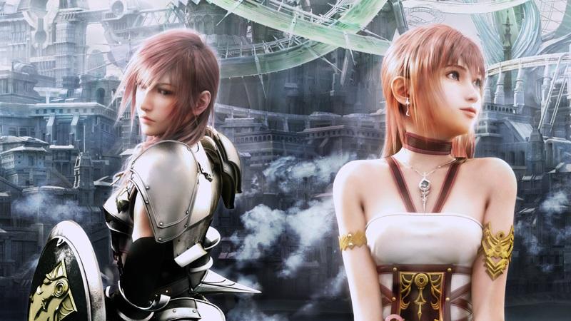 Leonardo Mancoarte Final Fantasy Xiii 2 Lightning And Serah