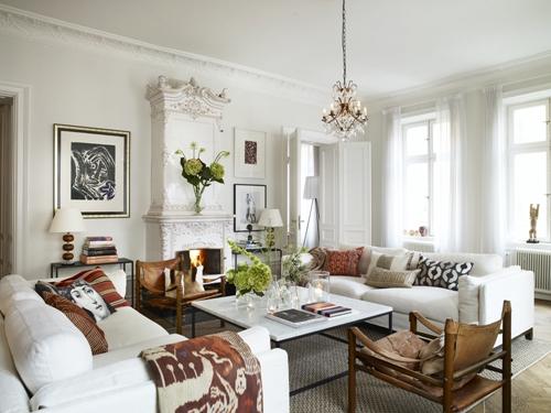 lovely elegant home decorating - photo #14